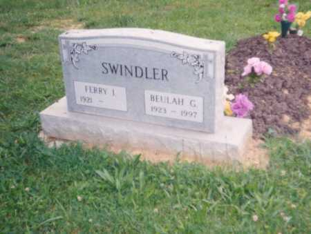 SWINDLER, BUELAH G. - Lawrence County, Ohio | BUELAH G. SWINDLER - Ohio Gravestone Photos