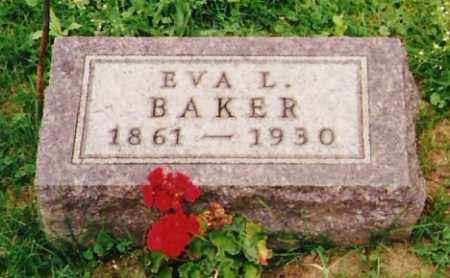 BAKER, EVA LORENTINE - Licking County, Ohio | EVA LORENTINE BAKER - Ohio Gravestone Photos