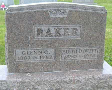 BAKER, GLENN C. - Licking County, Ohio | GLENN C. BAKER - Ohio Gravestone Photos
