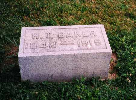 BAKER, HAMILTON THEODORE - Licking County, Ohio | HAMILTON THEODORE BAKER - Ohio Gravestone Photos