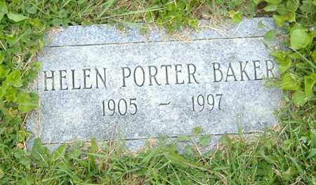 PORTER BAKER, HELEN - Licking County, Ohio | HELEN PORTER BAKER - Ohio Gravestone Photos