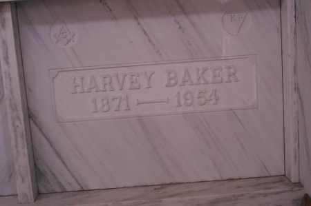 BAKER, HARVEY F. - Licking County, Ohio | HARVEY F. BAKER - Ohio Gravestone Photos