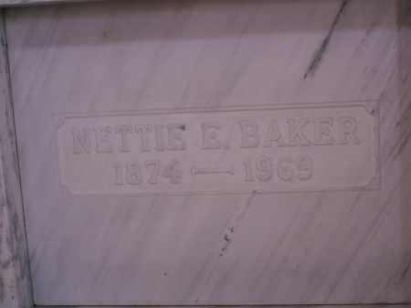 BAKER, NETTIE E. - Licking County, Ohio | NETTIE E. BAKER - Ohio Gravestone Photos