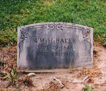 BAKER, WILLIAM HAZE - Licking County, Ohio | WILLIAM HAZE BAKER - Ohio Gravestone Photos