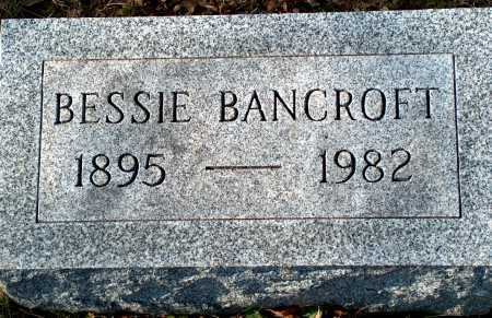 BANCROFT, BESSIE - Licking County, Ohio | BESSIE BANCROFT - Ohio Gravestone Photos