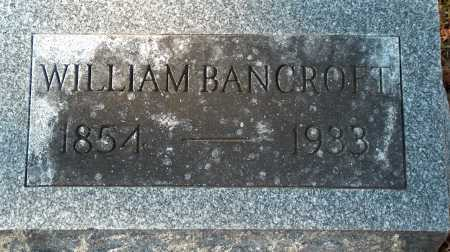 BANCROFT, WILLIAM - Licking County, Ohio | WILLIAM BANCROFT - Ohio Gravestone Photos