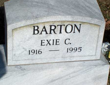 BARTON, EXIE C. - Licking County, Ohio | EXIE C. BARTON - Ohio Gravestone Photos