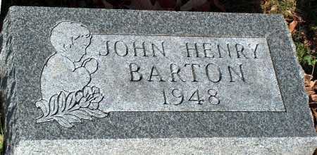 BARTON, JOHN HENRY - Licking County, Ohio | JOHN HENRY BARTON - Ohio Gravestone Photos