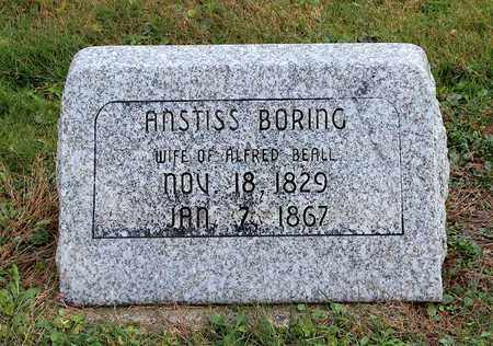 BEALL, ANSTISS - Licking County, Ohio | ANSTISS BEALL - Ohio Gravestone Photos