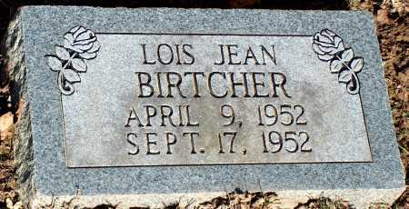 BIRTCHER, LOIS JEAN - Licking County, Ohio | LOIS JEAN BIRTCHER - Ohio Gravestone Photos