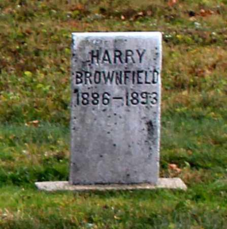BROWNFIELD, HARRY - Licking County, Ohio | HARRY BROWNFIELD - Ohio Gravestone Photos