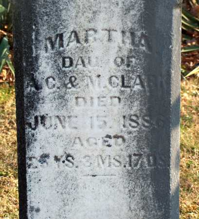 CLARK, MARTHA - Licking County, Ohio | MARTHA CLARK - Ohio Gravestone Photos