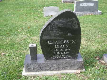 DIALS, CHARLES - Licking County, Ohio | CHARLES DIALS - Ohio Gravestone Photos