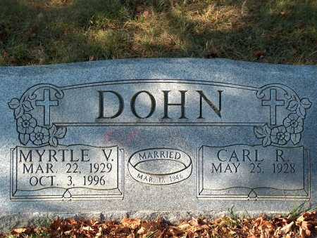 DOHN, CARL R. - Licking County, Ohio | CARL R. DOHN - Ohio Gravestone Photos