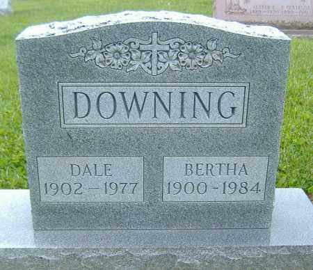 DOWNING, BERTHA - Licking County, Ohio | BERTHA DOWNING - Ohio Gravestone Photos