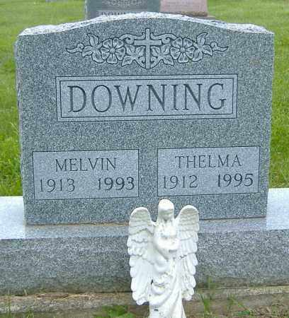 DOWNING, THELMA GLADYS - Licking County, Ohio | THELMA GLADYS DOWNING - Ohio Gravestone Photos