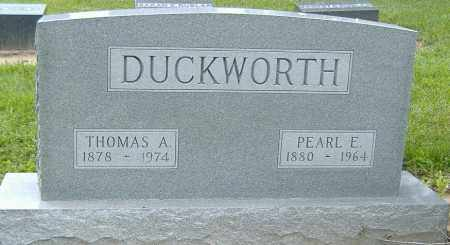 DUCKWORTH, PEARL E. - Licking County, Ohio | PEARL E. DUCKWORTH - Ohio Gravestone Photos