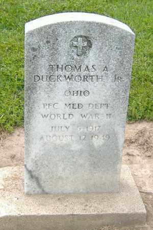 DUCKWORTH, THOMAS A. (JR.) - Licking County, Ohio | THOMAS A. (JR.) DUCKWORTH - Ohio Gravestone Photos