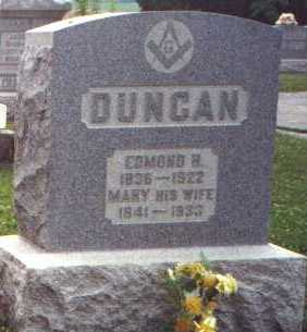 DUNCAN, MARY - Licking County, Ohio | MARY DUNCAN - Ohio Gravestone Photos