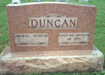 DUNCAN, JOSEPH - Licking County, Ohio | JOSEPH DUNCAN - Ohio Gravestone Photos