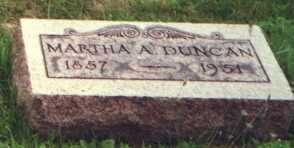 DUNCAN, MARTHA A. - Licking County, Ohio | MARTHA A. DUNCAN - Ohio Gravestone Photos