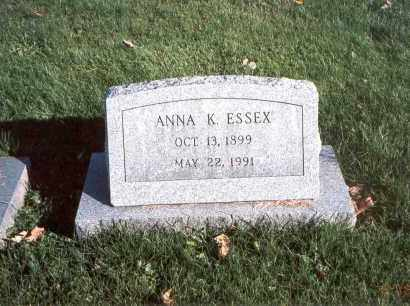 ESSEX, ANNA K. - Licking County, Ohio | ANNA K. ESSEX - Ohio Gravestone Photos