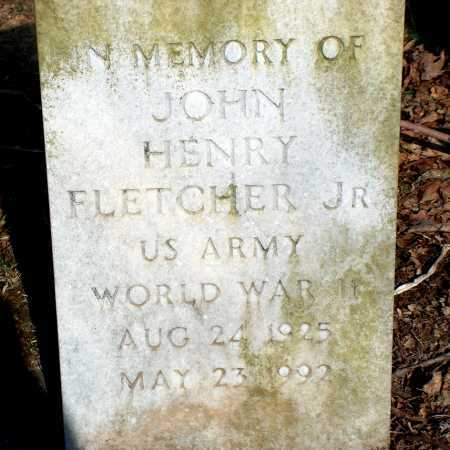 FLETCHER, JOHN HENRY JR. - Licking County, Ohio | JOHN HENRY JR. FLETCHER - Ohio Gravestone Photos
