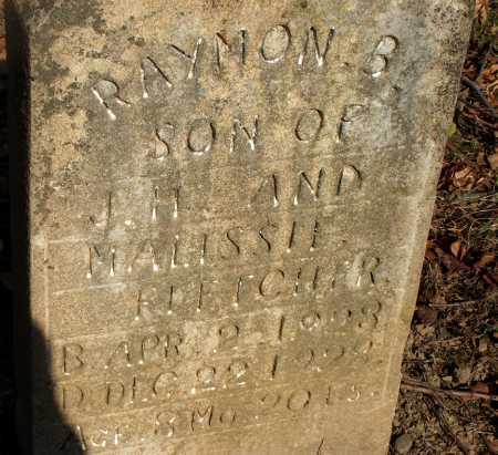 FLETCHER, RAYMON B. - Licking County, Ohio | RAYMON B. FLETCHER - Ohio Gravestone Photos