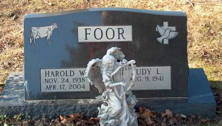 FOOR, HAROLD W. - Licking County, Ohio | HAROLD W. FOOR - Ohio Gravestone Photos