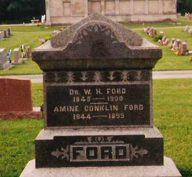 FORD, DR. WILLIAM HENRY - Licking County, Ohio | DR. WILLIAM HENRY FORD - Ohio Gravestone Photos