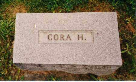 HARDING FRENCH, CORA A. - Licking County, Ohio | CORA A. HARDING FRENCH - Ohio Gravestone Photos