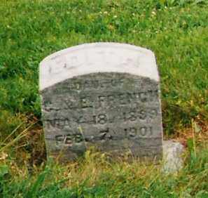 FRENCH, EDITH - Licking County, Ohio | EDITH FRENCH - Ohio Gravestone Photos