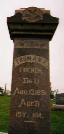 FRENCH, TRUMAN F. - Licking County, Ohio | TRUMAN F. FRENCH - Ohio Gravestone Photos