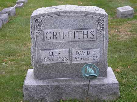 BURCHER GRIFFITHS, ELLA - Licking County, Ohio | ELLA BURCHER GRIFFITHS - Ohio Gravestone Photos