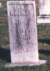 HOLMES, JOHN - Licking County, Ohio | JOHN HOLMES - Ohio Gravestone Photos