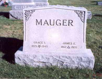 MAUGER, GRACE I. - Licking County, Ohio | GRACE I. MAUGER - Ohio Gravestone Photos
