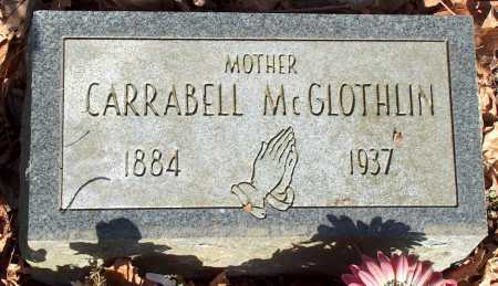 MCGLOTHLIN, CARRABELL - Licking County, Ohio | CARRABELL MCGLOTHLIN - Ohio Gravestone Photos