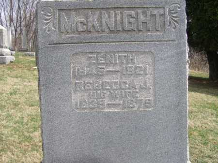 MCKNIGHT, REBECCA - Licking County, Ohio | REBECCA MCKNIGHT - Ohio Gravestone Photos