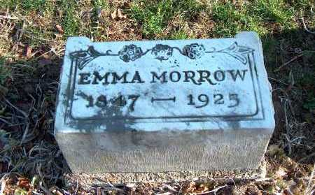 MORROW, EMMA - Licking County, Ohio | EMMA MORROW - Ohio Gravestone Photos