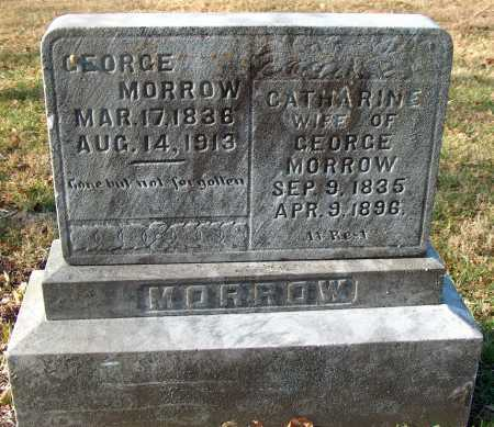MORROW, GEORGE - Licking County, Ohio | GEORGE MORROW - Ohio Gravestone Photos