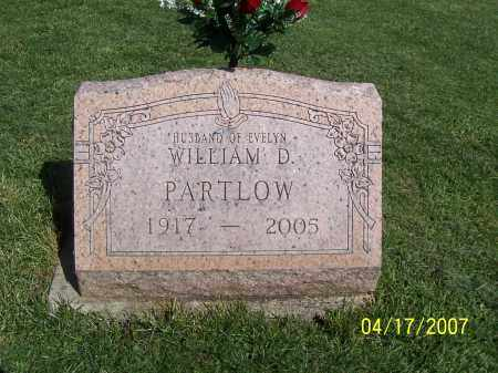 PARTLOW, WILLIAM DAVID JR - Licking County, Ohio | WILLIAM DAVID JR PARTLOW - Ohio Gravestone Photos