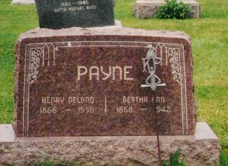 BAKER PAYNE, BERTHA ANN - Licking County, Ohio | BERTHA ANN BAKER PAYNE - Ohio Gravestone Photos