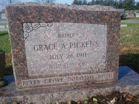 FOWLER PICKENS, GRACE - Licking County, Ohio | GRACE FOWLER PICKENS - Ohio Gravestone Photos