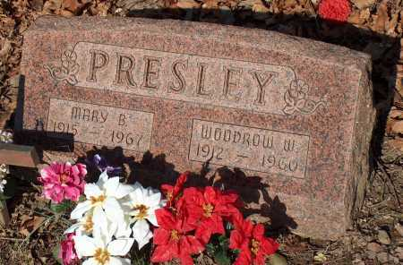 PRESLEY, MARY B. - Licking County, Ohio | MARY B. PRESLEY - Ohio Gravestone Photos