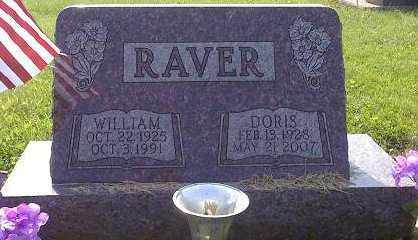RAVER, WILLIAM - Licking County, Ohio | WILLIAM RAVER - Ohio Gravestone Photos