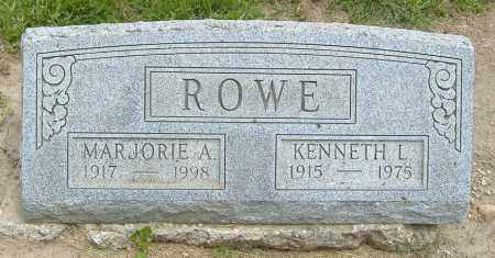 ROWE, MARJORIE ANN - Licking County, Ohio | MARJORIE ANN ROWE - Ohio Gravestone Photos