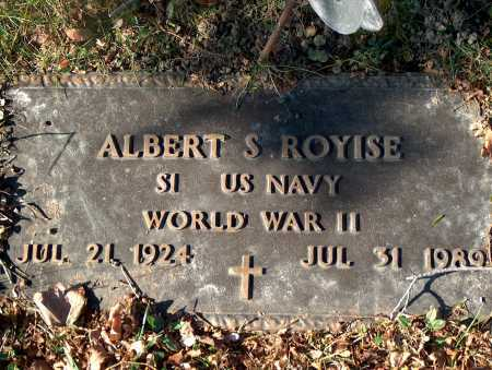 ROYISE, ALBERT S. - Licking County, Ohio | ALBERT S. ROYISE - Ohio Gravestone Photos