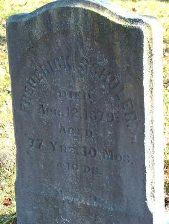 SCHOLER, FREDERICK - Licking County, Ohio | FREDERICK SCHOLER - Ohio Gravestone Photos