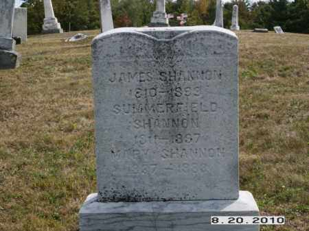 SHANNON, JAMES - Licking County, Ohio | JAMES SHANNON - Ohio Gravestone Photos