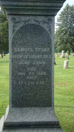STONE, SAMUEL - Licking County, Ohio | SAMUEL STONE - Ohio Gravestone Photos